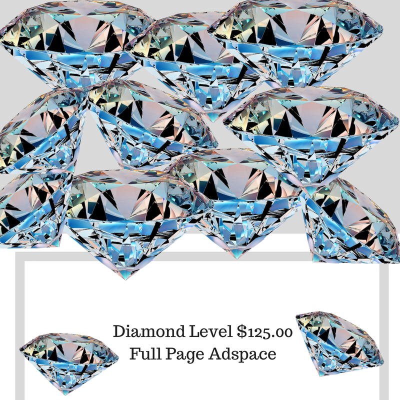 Diamond Level Full Page Adspace